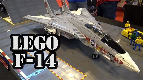 Lego F incredibly accurate lego f 14 tomcat navy supersonic