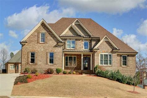 buford ga estate homes in stonegate at creek at home