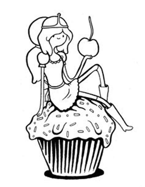 hora de aventura para colorear dibujo para colorear de la princesa chicle de hora de