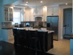 Kitchen Plans With Islands above black kitchen island plans and stools for open kitchen area