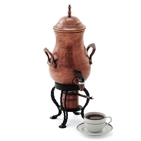 Wine Bottle Home Decor Copper Finished Artisan Coffee Urn The Green Head
