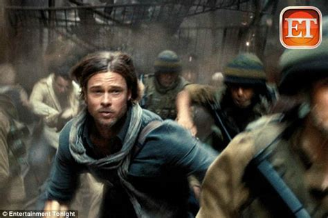 film action zombie world war z trailer first look at brad pitt fighting an