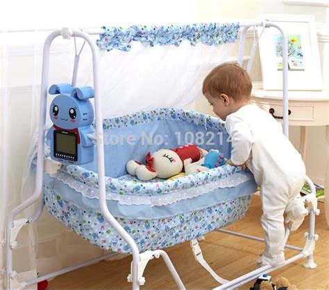 baby sleeping in swing 2015 new electric swing crib swing automatic swing baby