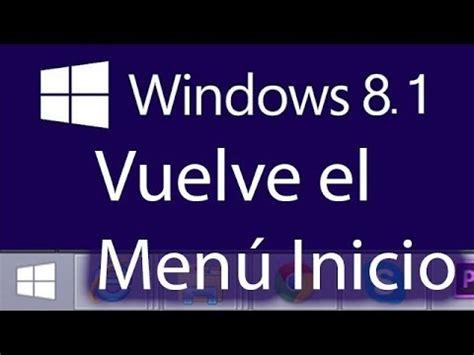 youtube tutorial windows 8 1 como usar windows 8 1 tutorial windows 8 1 opciones y