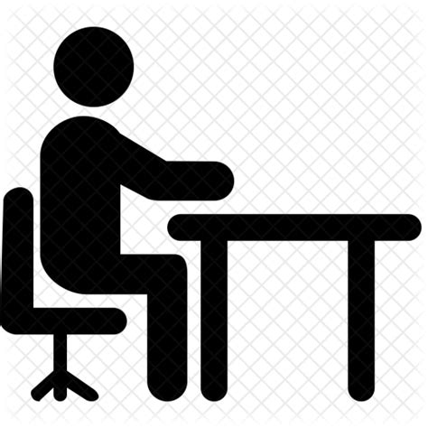 Office Desk Icon Office Desk Icon Png Desk Design Ideas