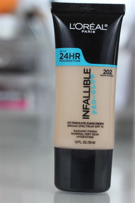 L Oreal Infallible Pro Glow l oreal infallible pro glow foundation dose of glam