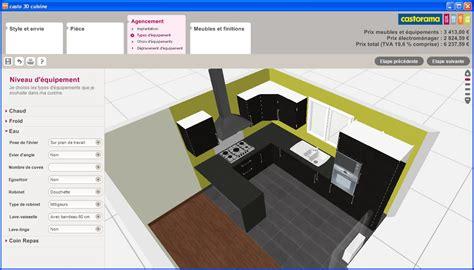cuisine 3d casto revger com castorama cuisine 3d gratuit id 233 e