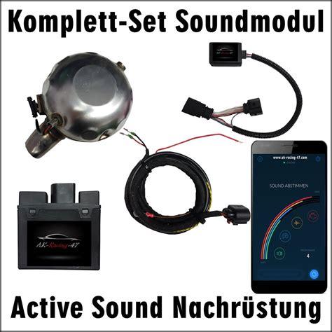 Audi Soundmodul by Soundmodul Audi Komplett Set Ak Racing 47