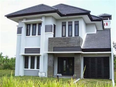 8 desain gambar rumah minimalis dengan dominasi warna netral abwaba