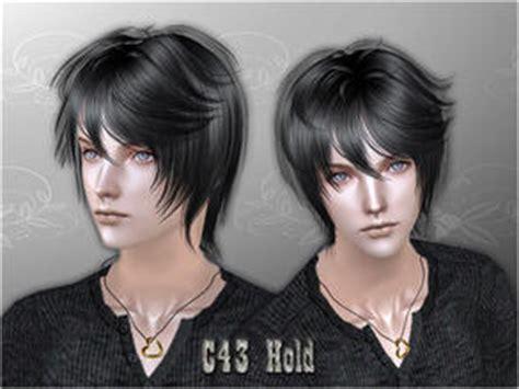 sims 2 male emo hair cazy s sims 2 male hair