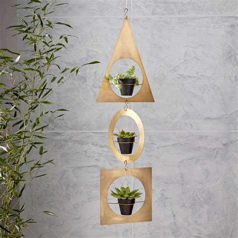 hanging succulent planter 20 pretty pots to refresh your succulents