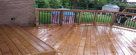 Composite Vs Wood Decking by Compare How Much A Wood Vs Composite Deck Costs In 2018