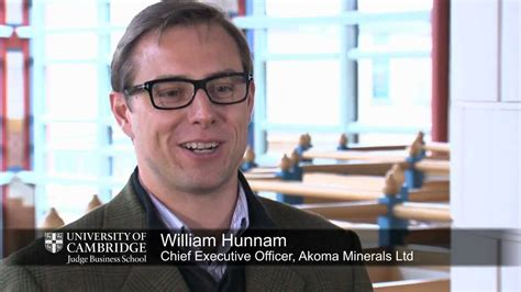 William And Mba Reviews by Emba William Hunnam Ceo Of Akoma Minerals On The Value