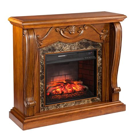 montgomery electric fireplace pleasant hearth 31 in mobile electric fireplace