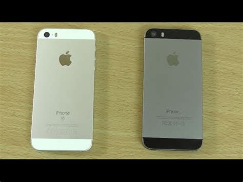 apple iphone se vs iphone 5s speed & battery test! youtube