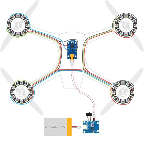 wiring diagram for quadcopter drone get free image about
