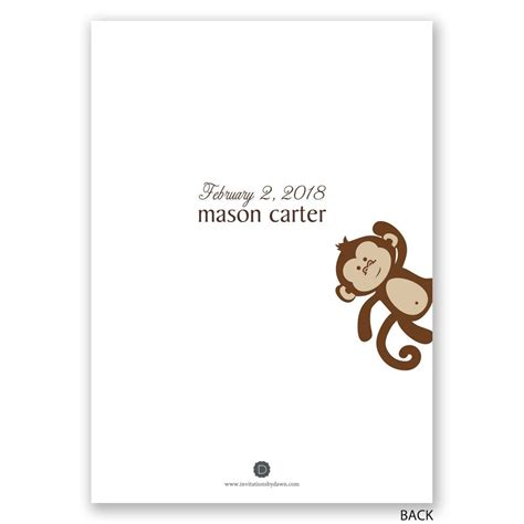 Baby Shower Business by Monkey Business Baby Shower Invitation Invitations By