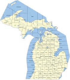 Northern Michigan Map by Northern Michigan Wikipedia