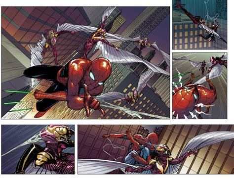 libro civil war spiderman first look civil war ii amazing spider man 1 bounding into comics