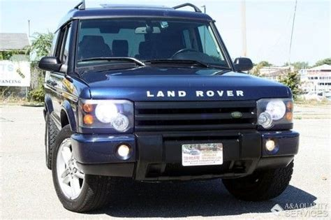 auto air conditioning service 2003 land rover discovery user handbook buy used 2003 land rover discovery se 4wd leather dual sunroof heated seats xenon in brooklyn