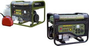 home depot sportsman 3500 watt generators only 199