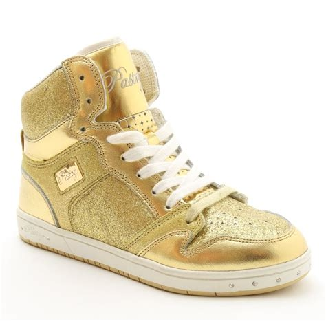 pastry sneakers pastry glam pie glitter gold sneaker