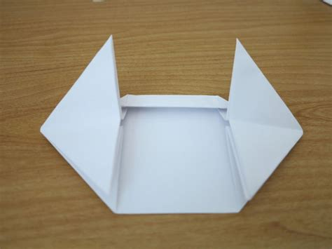 Origami Tank - how to make a origami paper tank 3