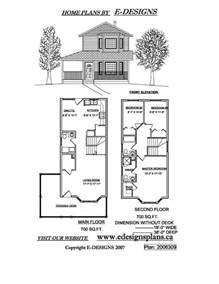 narrow lot 2 story house plans high resolution small 2 story house plans 4 small two
