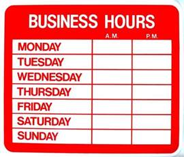 at home hours work from home salon hours establishing boundaries ask