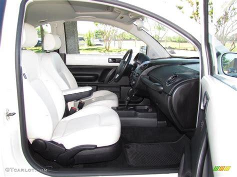 white volkswagen inside white interior 2008 volkswagen new beetle triple white