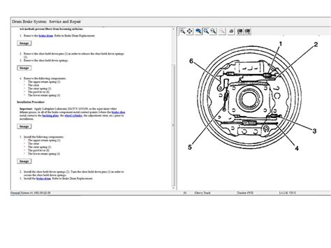 2002 chevy tracker rear brake diagram cannot find the correct rear brake assembly diagram for my