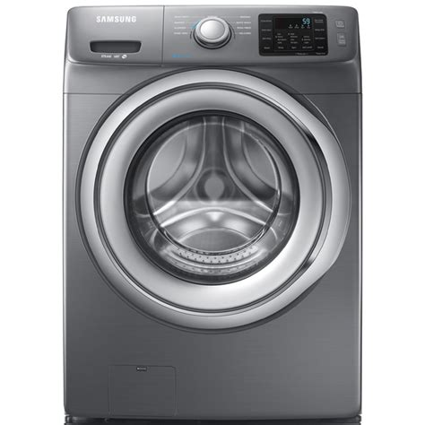 shop samsung 4 2 cu ft high efficiency stackable front load washer platinum energy at