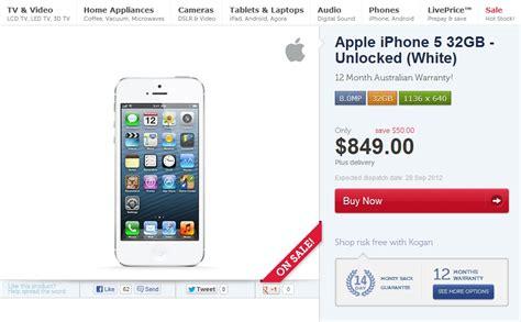 kogan iphone 5 prices go up lifehacker australia