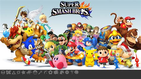 Smash Bros 3ds smash bros 3ds wallpaper wallpapersafari