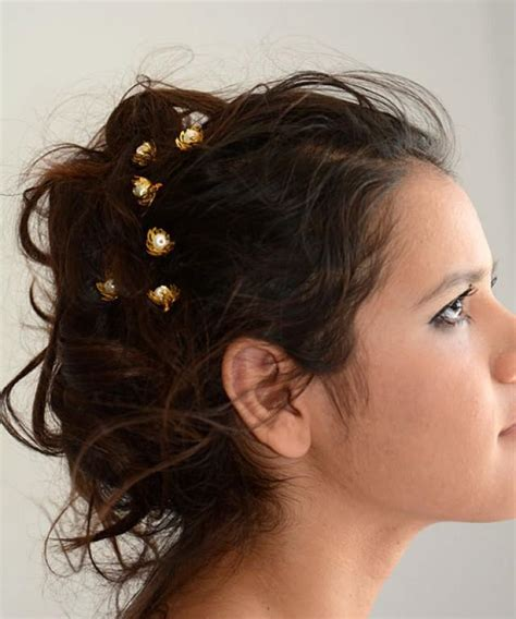 Wedding Hair Accessories Pins by Pearl Wedding Hair Pins Gold And Pearl Hair Pins Bridal