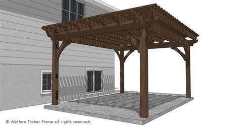 timber pergola kits 14 x 18 timber frame diy pergola kit replaces wood pergola western timber frame