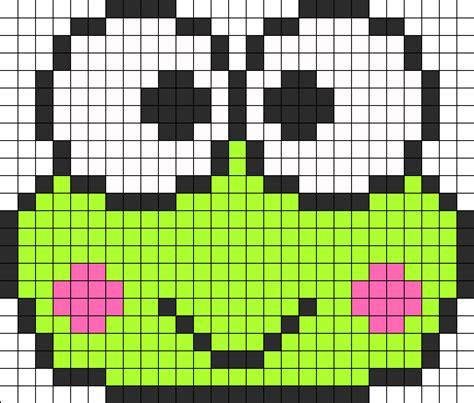 perler templates keroppi perler bead pattern bead sprites characters