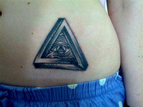 tattoo meanings eye triangle triangle eye stomach tattoo tattoomagz