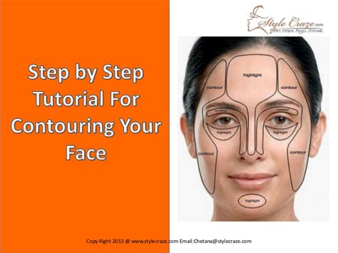 by step step by step tutorial for contouring your