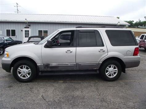 Expedition 6655 Silver Grey Leather find used 2003 ford expedition xlt 4x4 leather dvd new transmission no reserve in lake