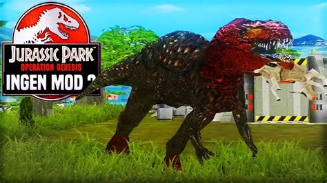 mod game jurassic park operation genesis ultimasaurus baby rex hour long special jurassic park