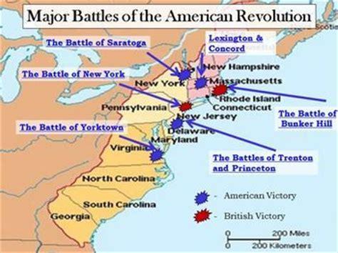 Battles Of The American Revolution Worksheet