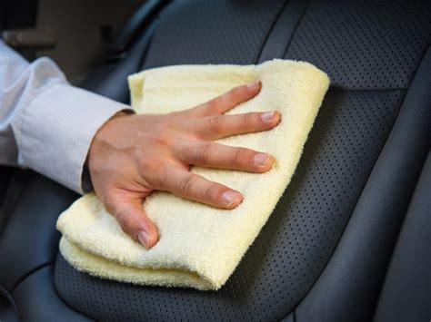 how to clean in how to clean leather car seats diy