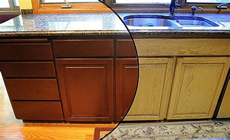 refinishing wood kitchen cabinets all things wood floor deck cabinet refinishing in