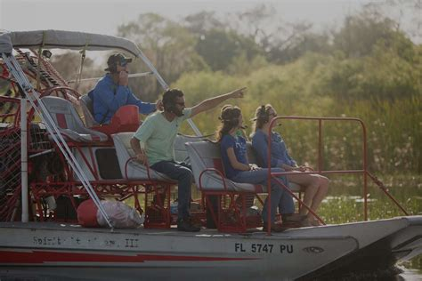 fan boat rides kissimmee fl airboat tours in orlando and kissimmee spirit of the sw