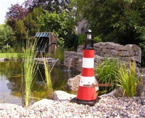 garten leuchtturm leuchtturm gartenfigur roter sand optik garten dekoration