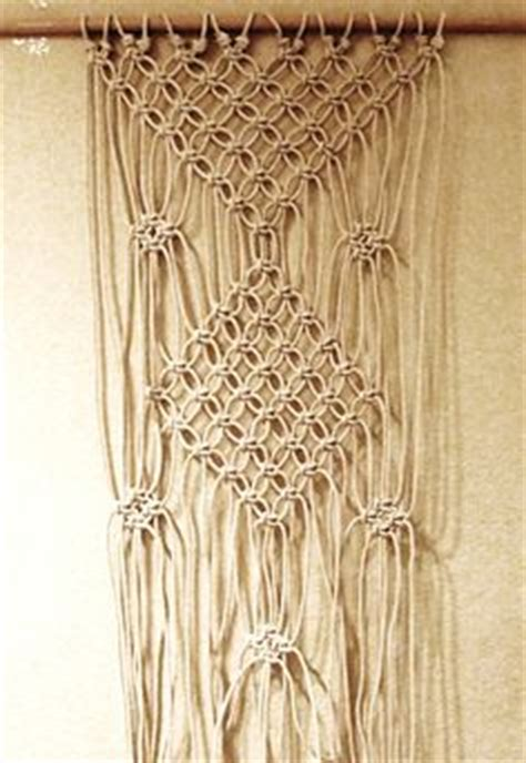 Macrame Guide - 6 diy patterns for macram 233 curtains guide patterns