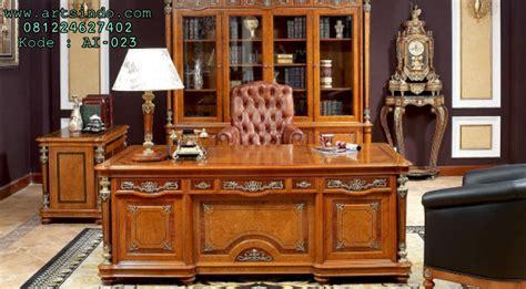 Meja Executive meja kantor executive mewah terbaru arts indo furniture