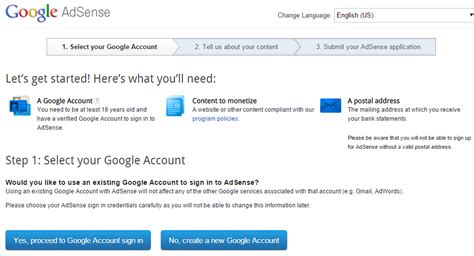 google adsense tutorial step by step how to create google adsense account the tutorial techlila
