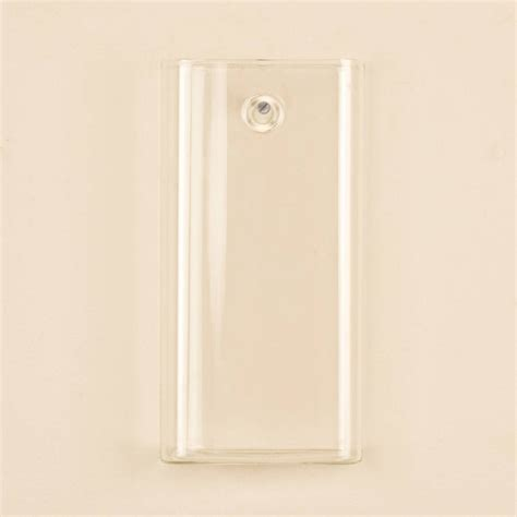 Wall Mounted Glass Vase by Rectangular Wall Mounted Glass Vase By Dibor